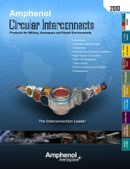 NEW 2010 Circular Interconnects Catalog - All sections - 12-C3