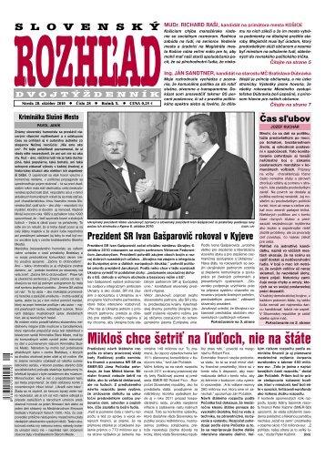 Mikloš chce šetriť na ľuďoch, nie na štáte - Slovenský rozhľad