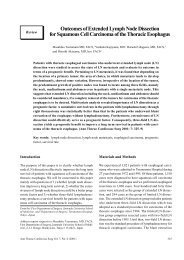 Outcomes of Extended Lymph Node Dissection for ... - ResearchGate