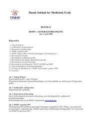 Referat fra generalforsamlingen - Dansk Selskab for Medicinsk Fysik
