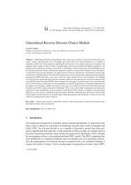 Generalized Reverse Discrete Choice Models - Simon Graduate ...