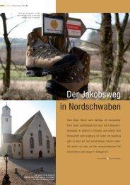 Der Jakobsweg in Nordschwaben - Bild-Text-Ton