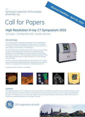 Call for papers Dresden final.indd - Phoenix|x-ray