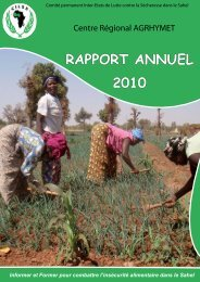 Téléchargez le rapport (haute résolution - PDF - 5 Mo) - CILSS