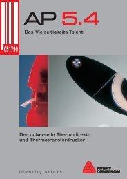 Der universelle Thermodirekt - Drucksysteme Janz & Raschke GmbH