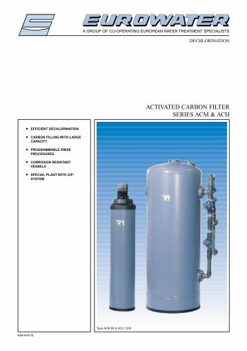 ACTIVATED CARBON FILTER SERIES ACM & ACH - Hyxo