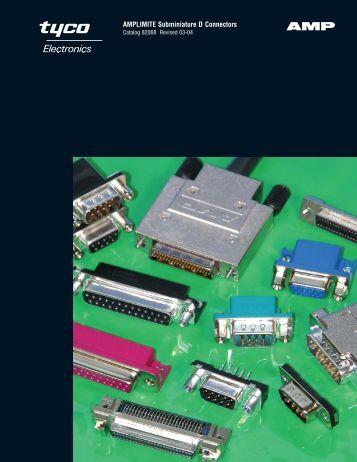 AMPLIMITE Subminiature D Connectors