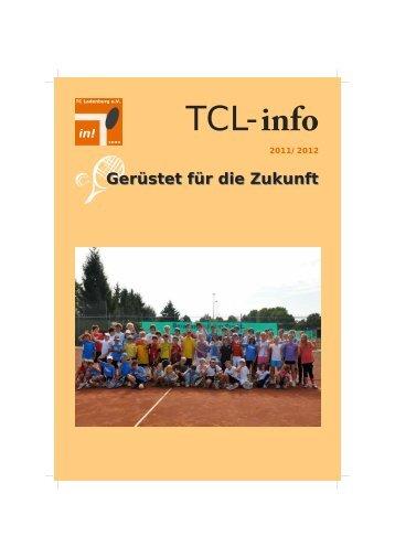 Gerüstet für die Zukunft - Tennisclub Ladenburg eV