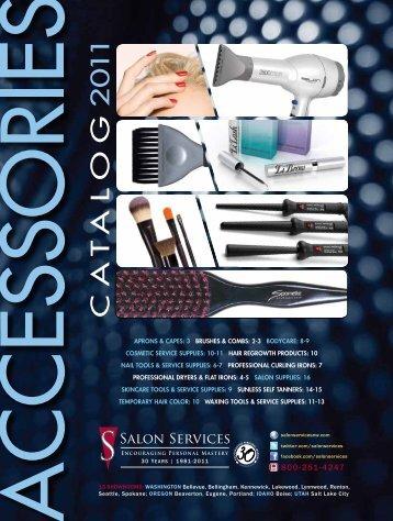 CA T ALOG 2 0 11 - Salon Services & Supplies