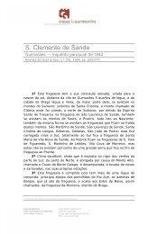 S. Clemente de Sande - Casa de Sarmento