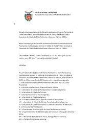 DECRETO Nº 828 - 16/05/2007 Publicado no Diário Oficial ... - COLIT