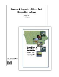 Economic Impacts of River Trail Recreation in Iowa - Center for ...