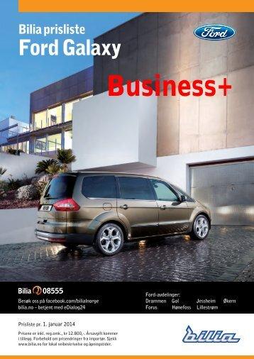 prislisten Business+ - Bilia