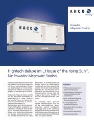 "Hightech deluxe im ""House of the rising Sun""."