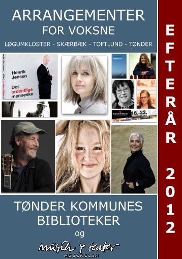 ARRANGEMENTER E F T E R Å R 2 0 1 2 - Kulturfokus