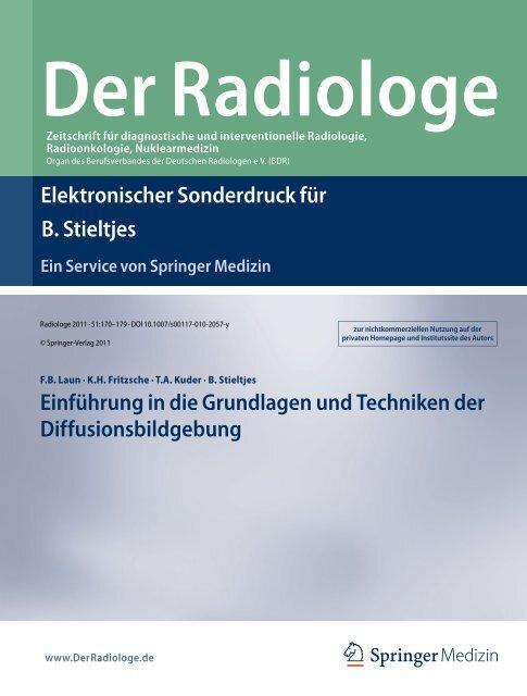 Elektronischer Sonderdruck für Einführung in die Grundlagen und ...