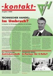 kontakt- Ausgabe: 1/2000 - VTH TOP-Partner / VTH TOP-Partner
