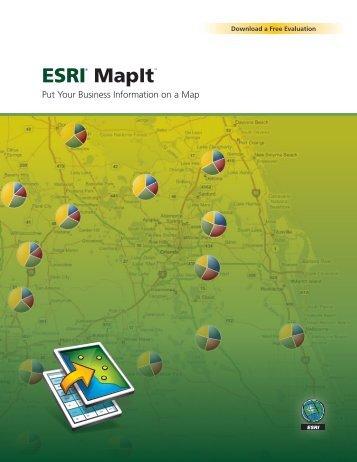 ESRI MapIt - Esri Portugal