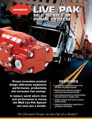 live pak - Muncie Power Products