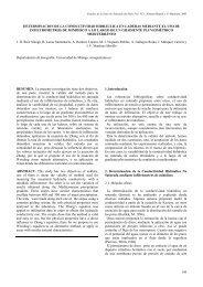 Determinación de la conductividad hidráulica en laderas mediante ...
