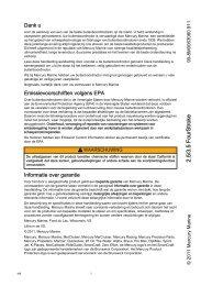 Operational manual - Mercury