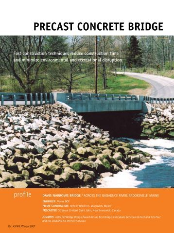 Precast Concrete Bridge Completed In 30 Days - Aspire - The ...