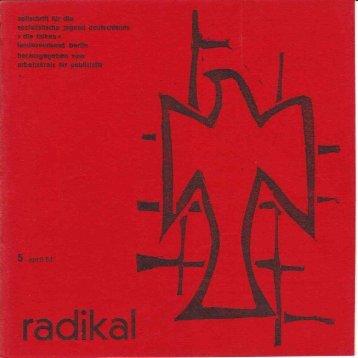 radikal 5 April 1964