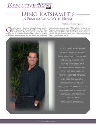 Dino Katsiametis - Executive Agent Magazine