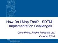How Do I Map That? - SDTM Implementation ... - PhUSE Wiki