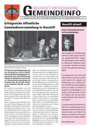 Ausgabe 5 - Juni 2005 - Neustift im Stubaital - Land Tirol