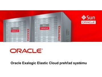 Oracle Exalogic Elastic Cloud prehľad systému - ASBIS SK Online