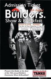 Show & Breakfast Admission Ticket - Builders