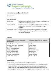 Informationen zur Bachelor-V2