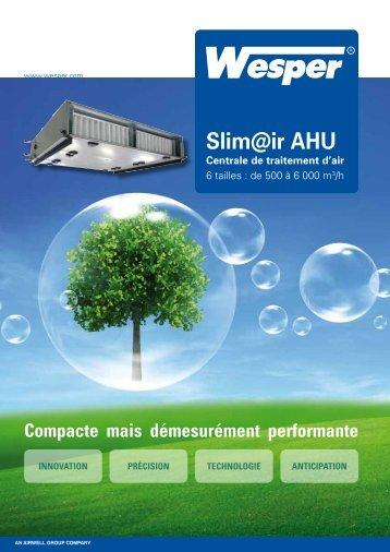 Slim@ir AHU Centrale de traitement d'air - Comatec-airwell.com