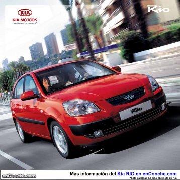 Catálogo KIA RIO - enCooche.com