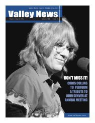 March-April - Valley Rural Electric Cooperative
