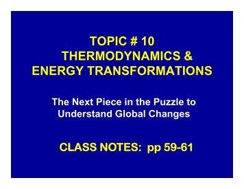 Thermal Energy - BiofizikaBSC