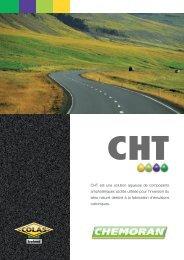 CHT est une solution aqueuse de composants ... - Chemoran