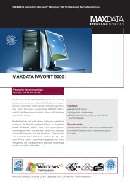 MAXDATA FAVORIT 5000 I