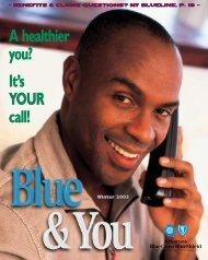 It's YOUR call! - Arkansas Blue Cross and Blue Shield