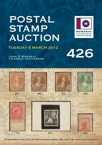 Auction Template Ci Postal Bids - Auction brochure template