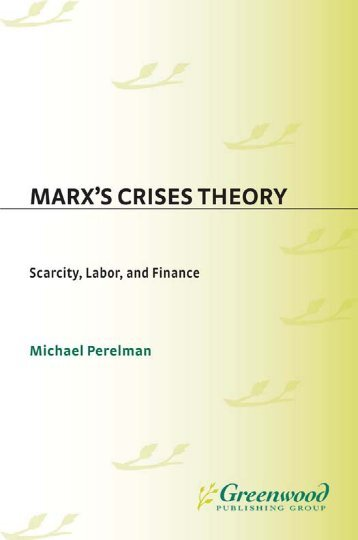 karl marxs conflict theory