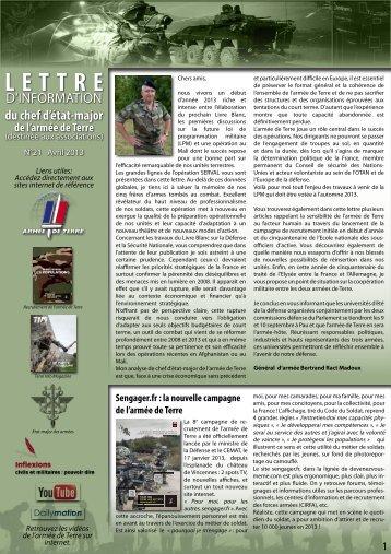 lettre info CEMAT n°21 - La fédération des Clubs de la Défense