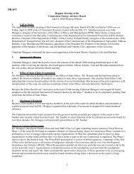 TAB 3 - Draft April Minutes - Connecticut Energy Advisory Board