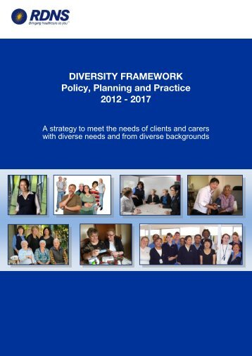 RDNS Diversity Framework - Royal District Nursing Service