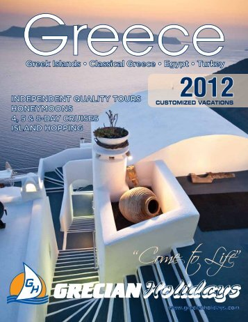 """Come to Life"" - Grecian Holidays"