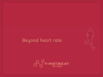 Esitys 6. - Firstbeat