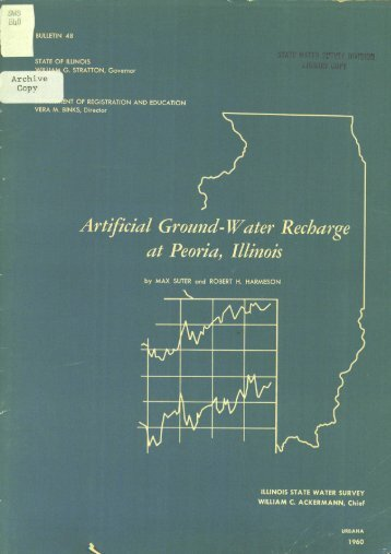 Artificial ground-water recharge at Peoria, Illinois. - Illinois State ...