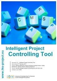 Intelligent Project Controlling Tool PDF - IKS