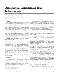 Efectos Adversos Cardiovasculares de los Antiinflamatorios